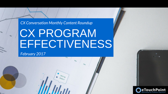 CX Conversation: CX Program Effectiveness