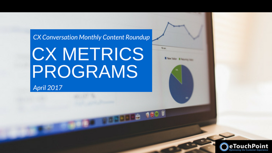 CX Conversation: CX Metrics Programs