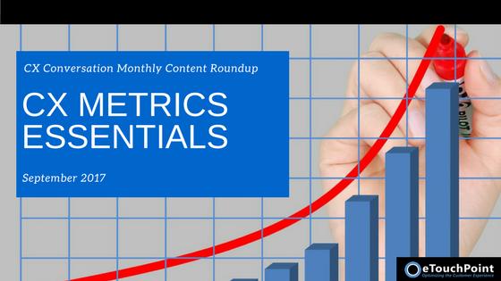 CX Conversation: CX Metrics Essentials