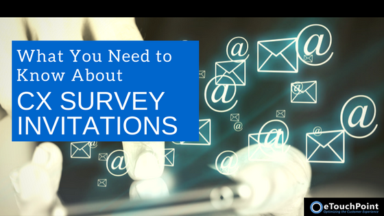 What You Need to Know About CX Survey Invitations