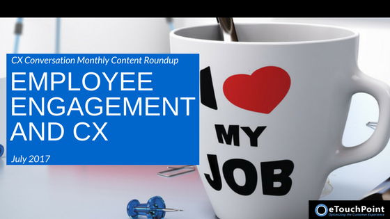 CX Conversation: Employee  Engagement and CX