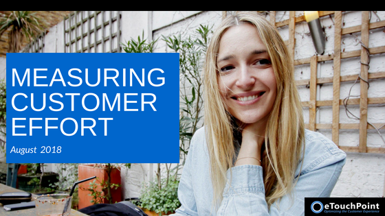 CX Conversation: Measuring Customer Effort