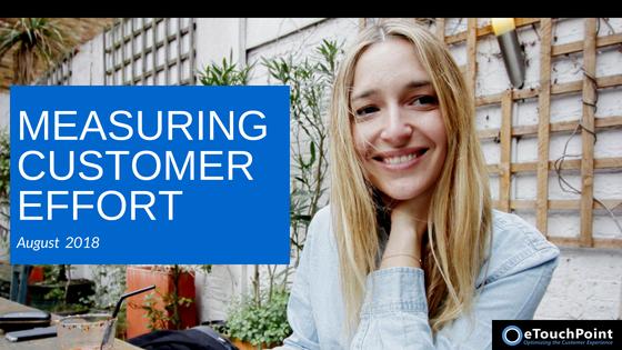 CX Conversation: Measuring Customer Effort
