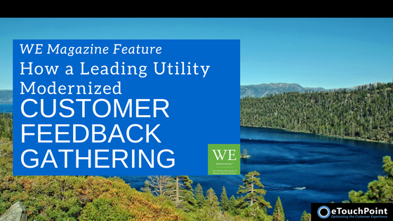 How a Leading Utility Modernized Customer Feedback Gathering